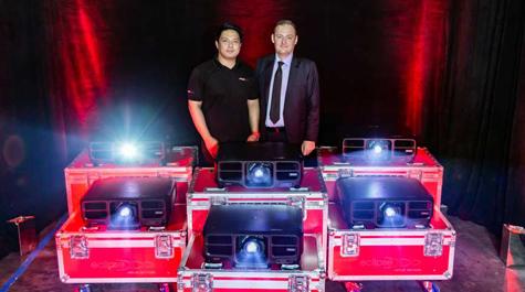 Eclipse Venue Services Invests in Epson 15K Laser Projectors